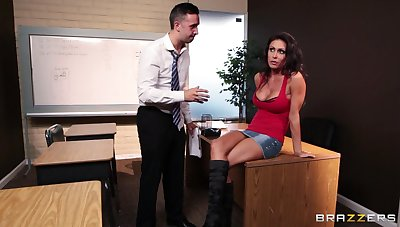Fucking far the election ends less a messy facial for Jessica Jaymes