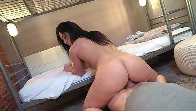 Sexual seduction on best friend's dad huge dick